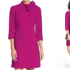 Gorgeous Eliza J pink dress with neck bow!